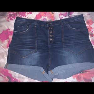 Rue21 highwaist shorts